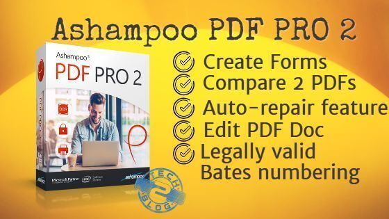 Ashampoo PDF Pro 2.07 Crack + License Key (Latest) Free Download