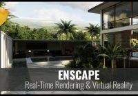 Enscape 3D 2.8.0 Crack + License Key (2020) Free Download