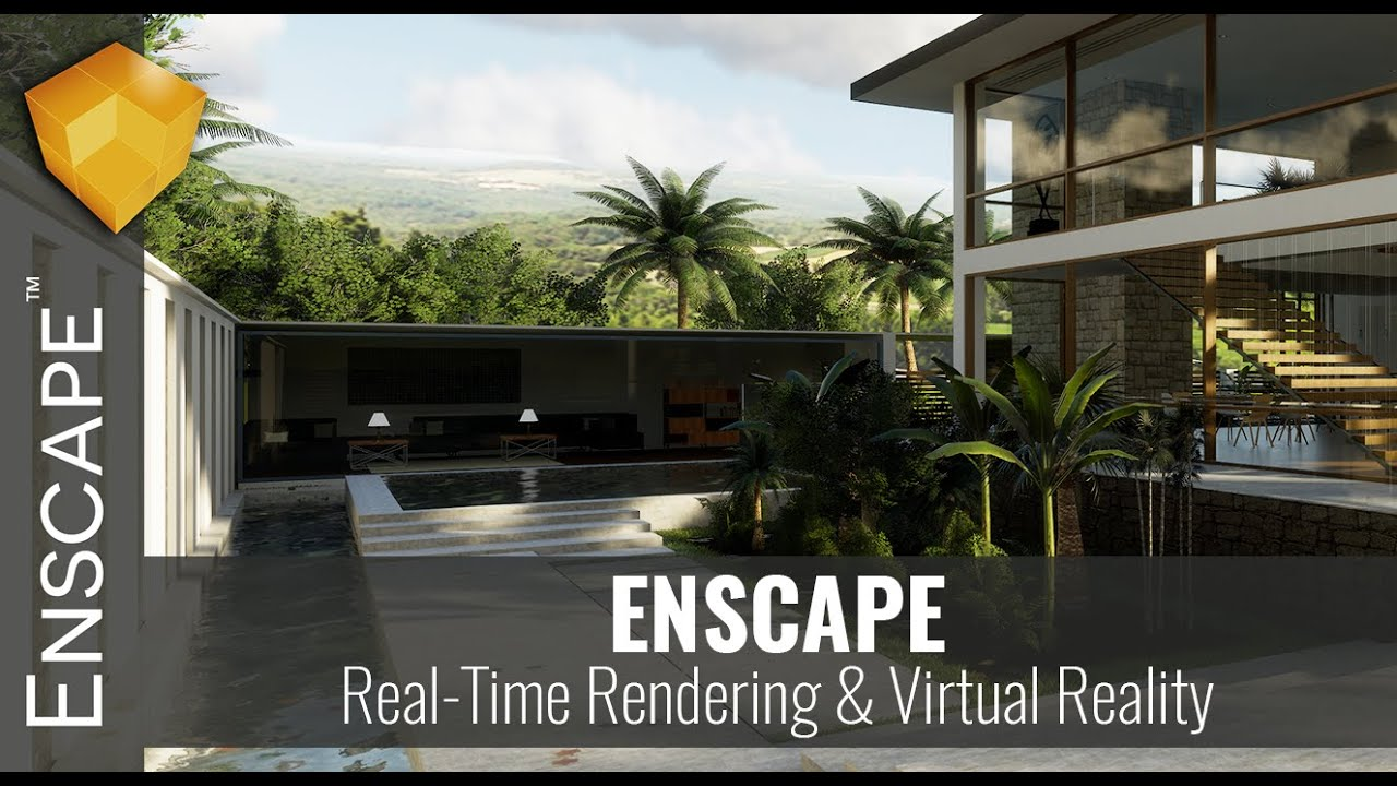 Enscape 3D 2.8.0 Crack + License Key (2020) Free Download