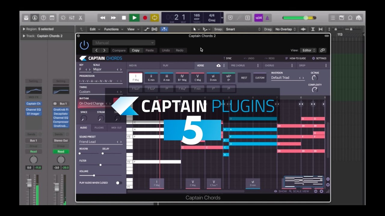 Captain Chords 5 Crack + Torrent VST Plugin For Mac (Latest) Free Download