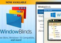 WindowBlinds 10.85 Crack + Product Key [Latest] Free Download