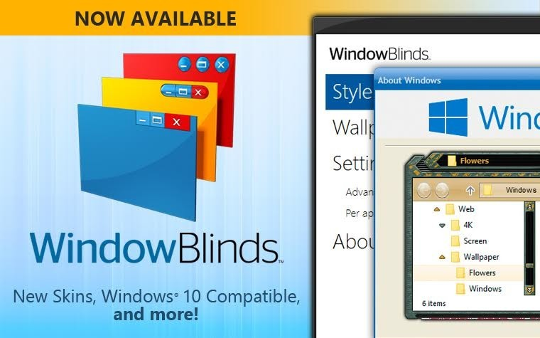 WindowBlinds 10.85 Crack + Product Key [Latest] Free Download