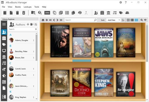 Alfa EBooks Manager Pro 8.4.35.1 Crack + Portable Free Download 2020