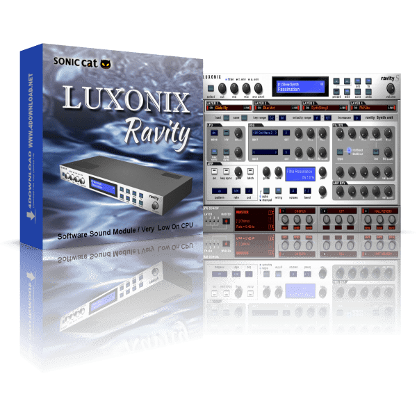 LUXONIX Ravity 2021 Crack & Keygen (Mac) Free Download