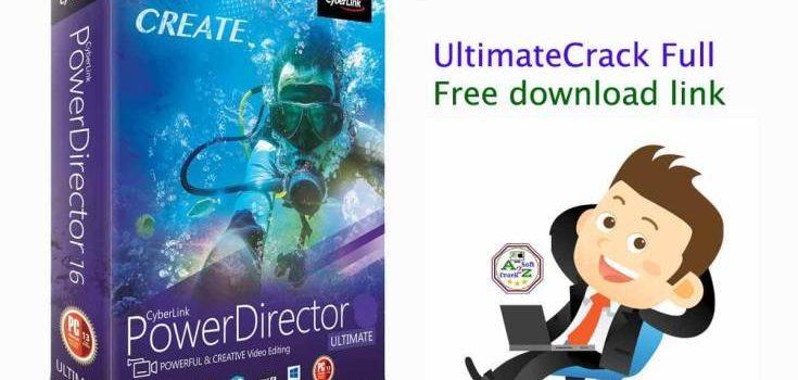 Cyberlink PowerDirector 19.1.2407.0 Crack (Latest) Version 2021