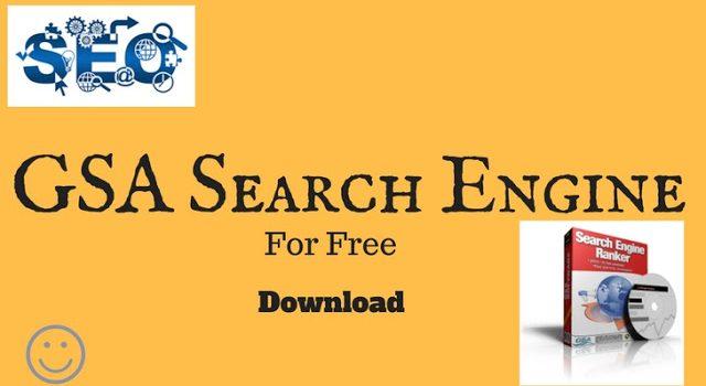 GSA Search Engine Ranker 15.34 Crack [Latest] Free Download
