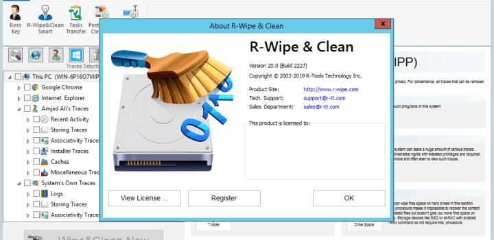 R-Wipe & Clean 20.0 Crack Lastest Version [2021] FreecDownload