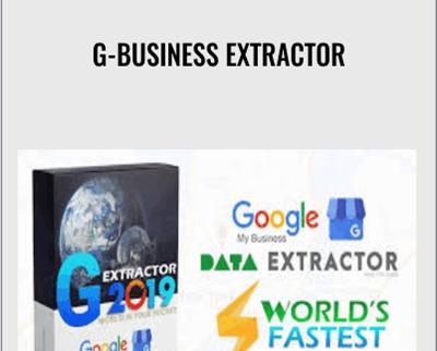 G-Business Extractor 6.9 Crack Free Download [2021 Premium]
